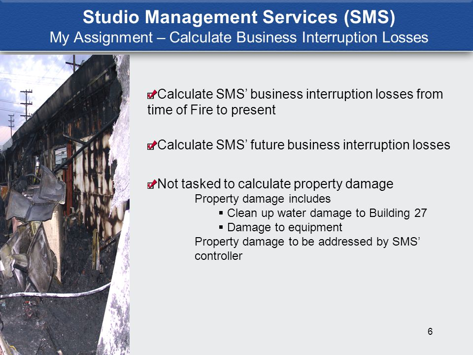 7 Studio Management Services Business Model SMS Offers Bundled Services to the Entertainment Industry Not in the office rental business Licenses Production facilities and related services, offices and parking Office Space Must be Within Walking Distance of Production Facilities When SMS has more office space available, SMS generates more profit from production facilities and related services Historical performance – SMS operated KTLA Studios until 2001 After 2001 needed additional offices to increase revenue from production facilities and related services Seward Buildings acquired to provide additional office space for production facilities, not to house Building 27 tenants