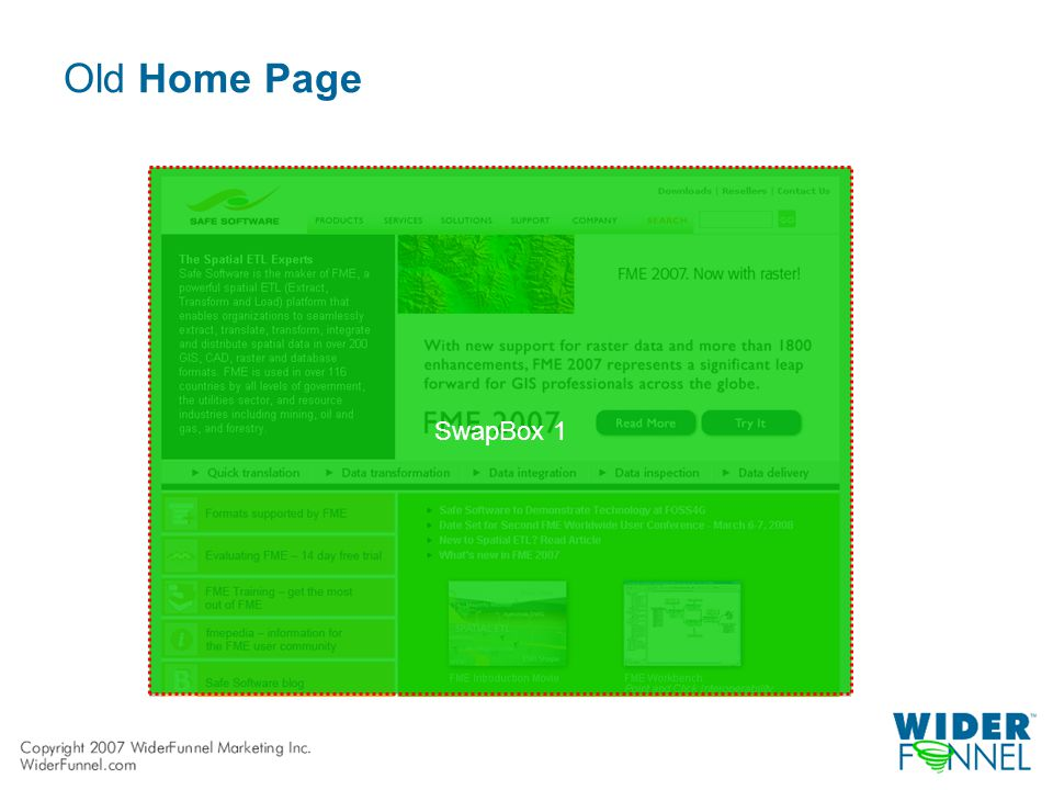 Old Home Page SwapBox 1