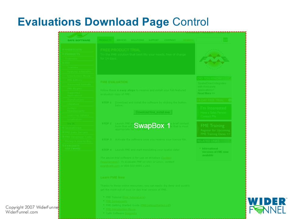 Evaluations Download Page Control SwapBox 1