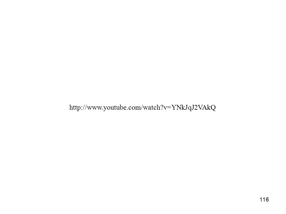 116 http://www.youtube.com/watch v=YNkJqJ2VAkQ
