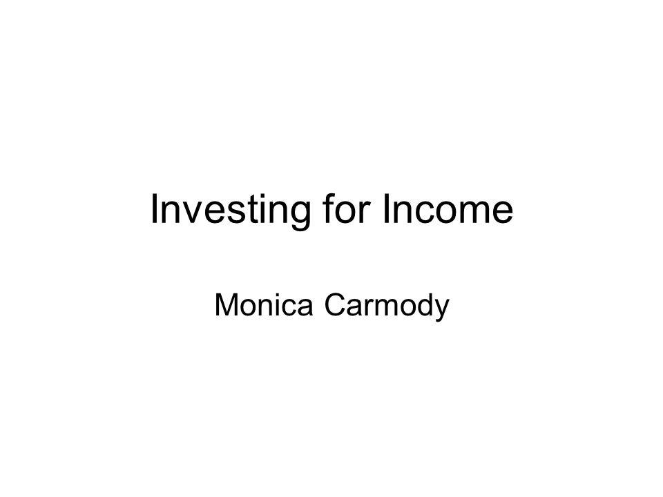Monica Carmody Investing for Income