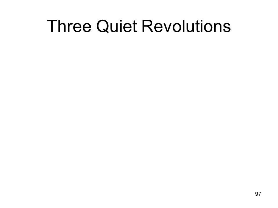97 Three Quiet Revolutions
