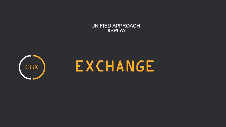 7 EXCHANGE UNIFIED APPROACH DISPLAY CBX
