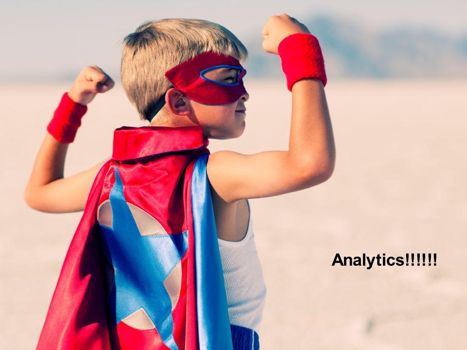 Analytics!!!!!!