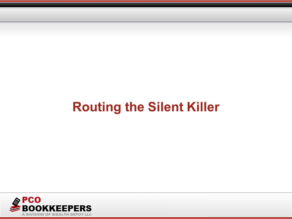 Routing the Silent Killer
