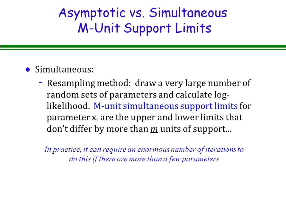 Asymptotic vs.