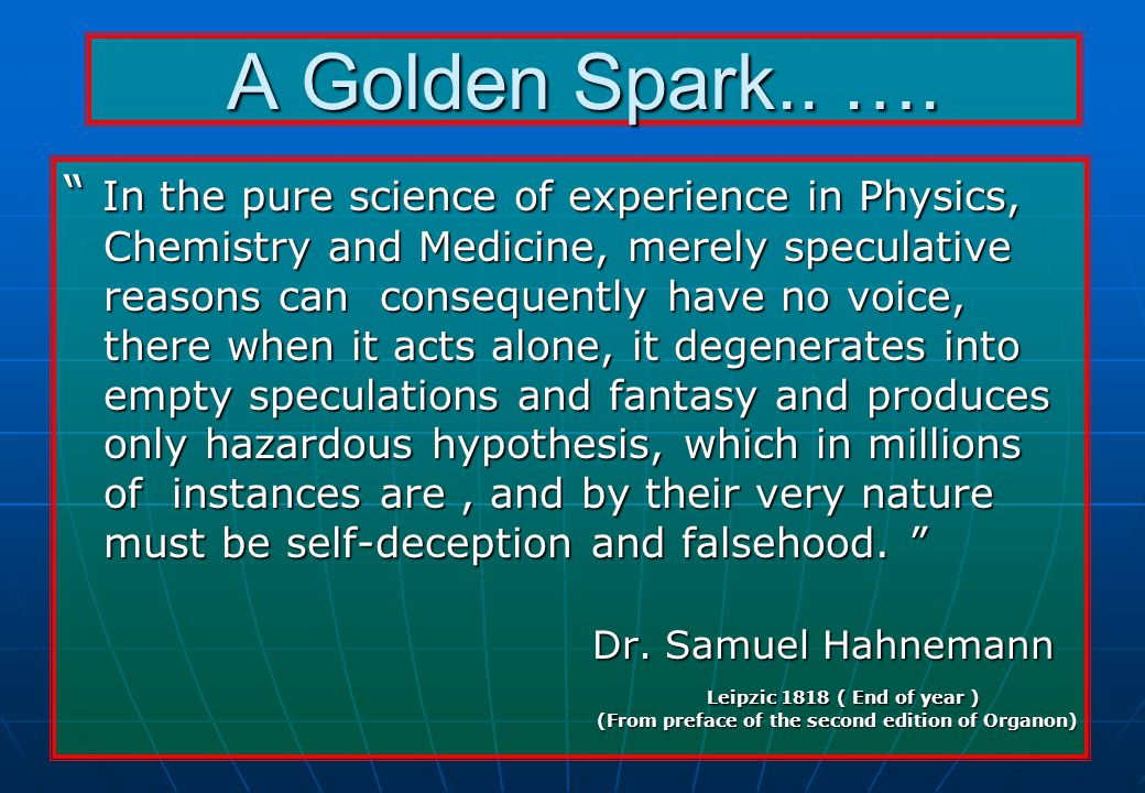 A Golden Spark.. ….