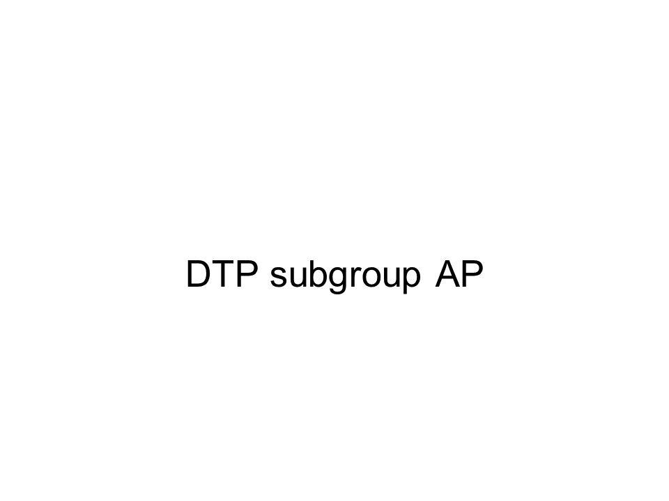 DTP subgroup AP