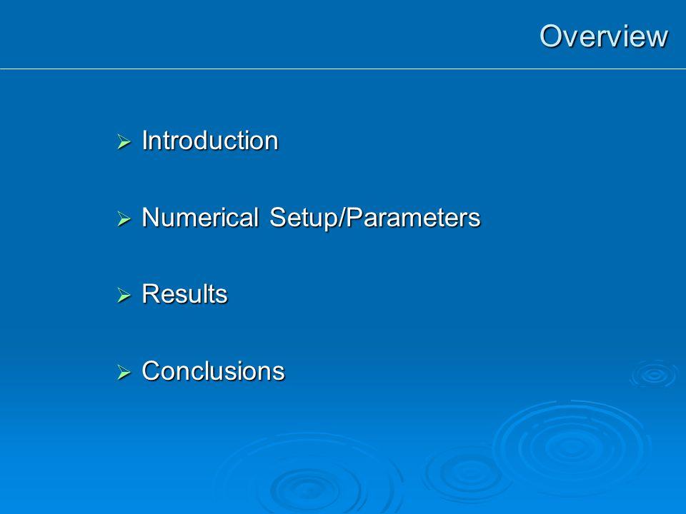 Parameter Study In Disk Jet Systems: Authors: Tzeferacos Petros 1, Ferrari Attilio 1, Mignone Andrea 1,2, Bodo Gianluigi 2, Massaglia Silvano 1, Zanni