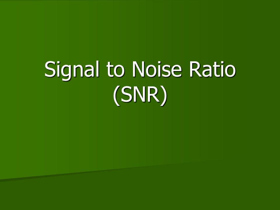 NEX Vs SNR 1 2 3 4 5 6 7 8 NEX SNR 3 2 1