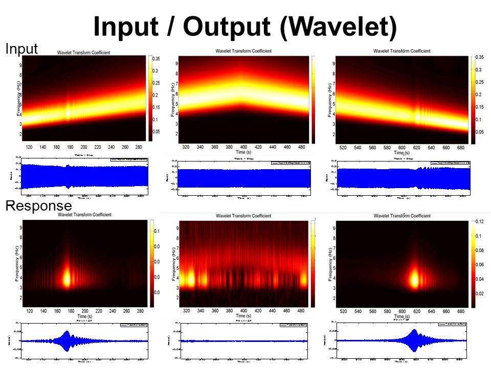 Input / Output (Wavelet) Input Response