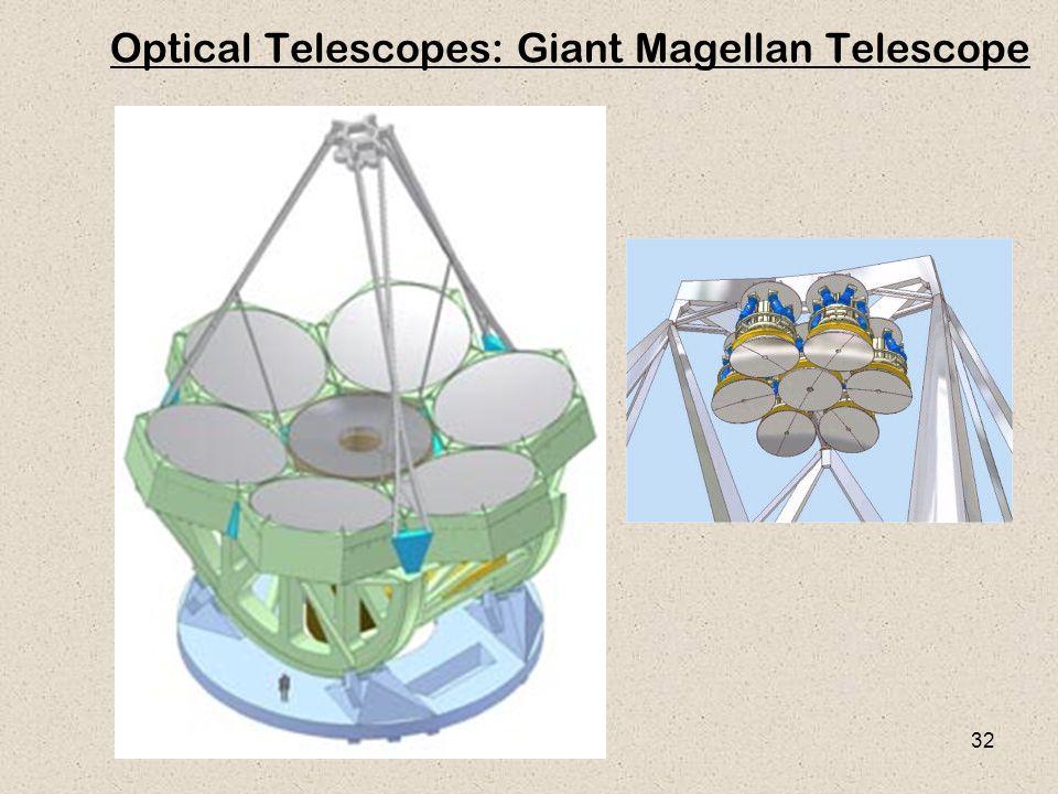 32 Optical Telescopes: Giant Magellan Telescope