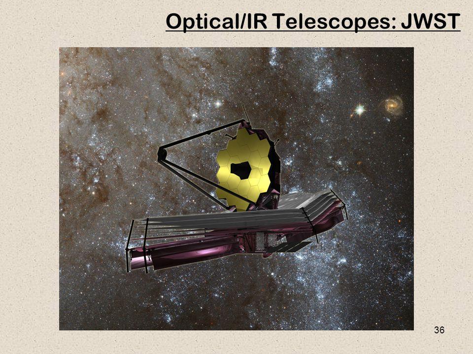 36 Optical/IR Telescopes: JWST