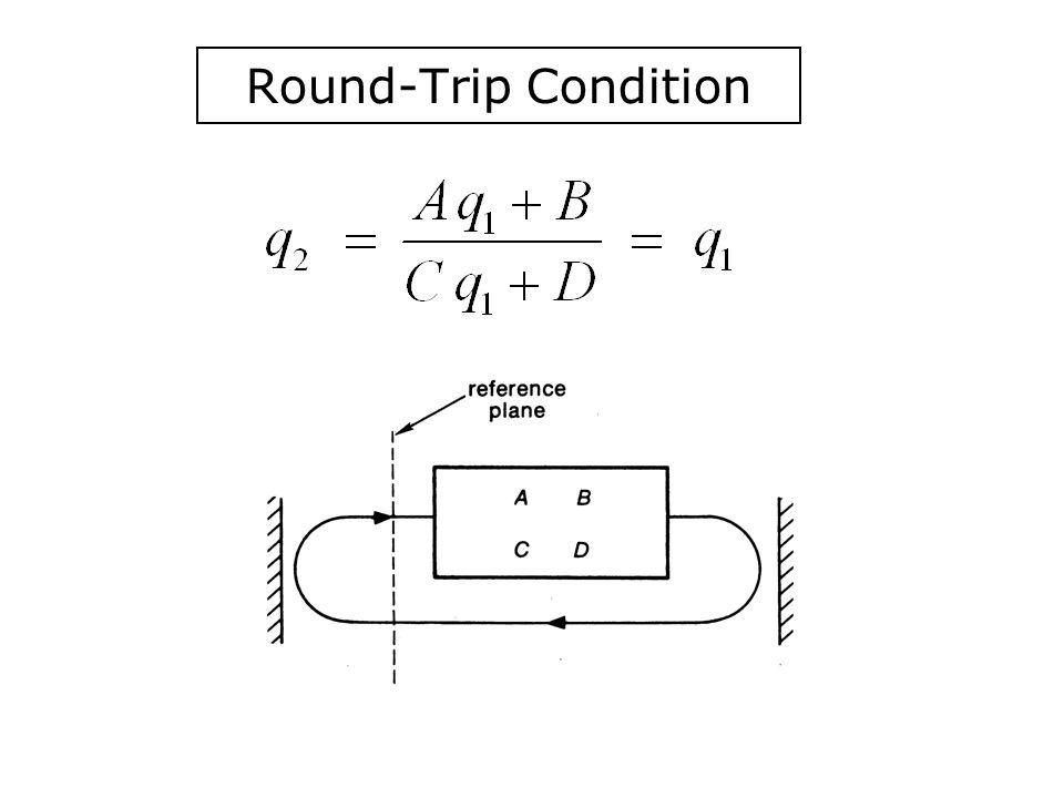 Round-Trip Condition