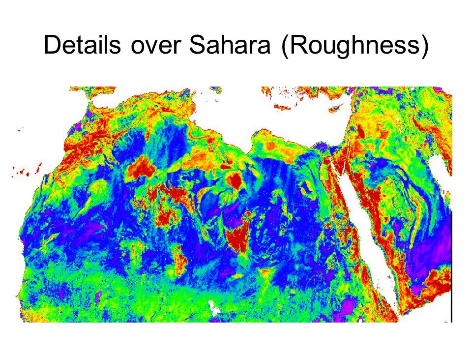 Details over Sahara (Roughness)