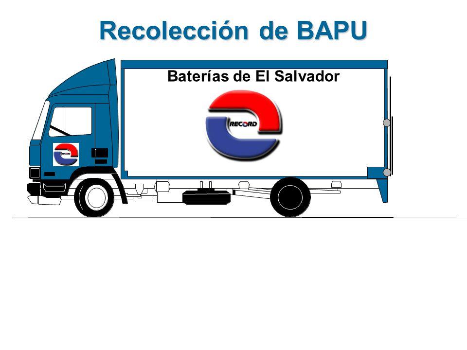 Recolección de BAPU