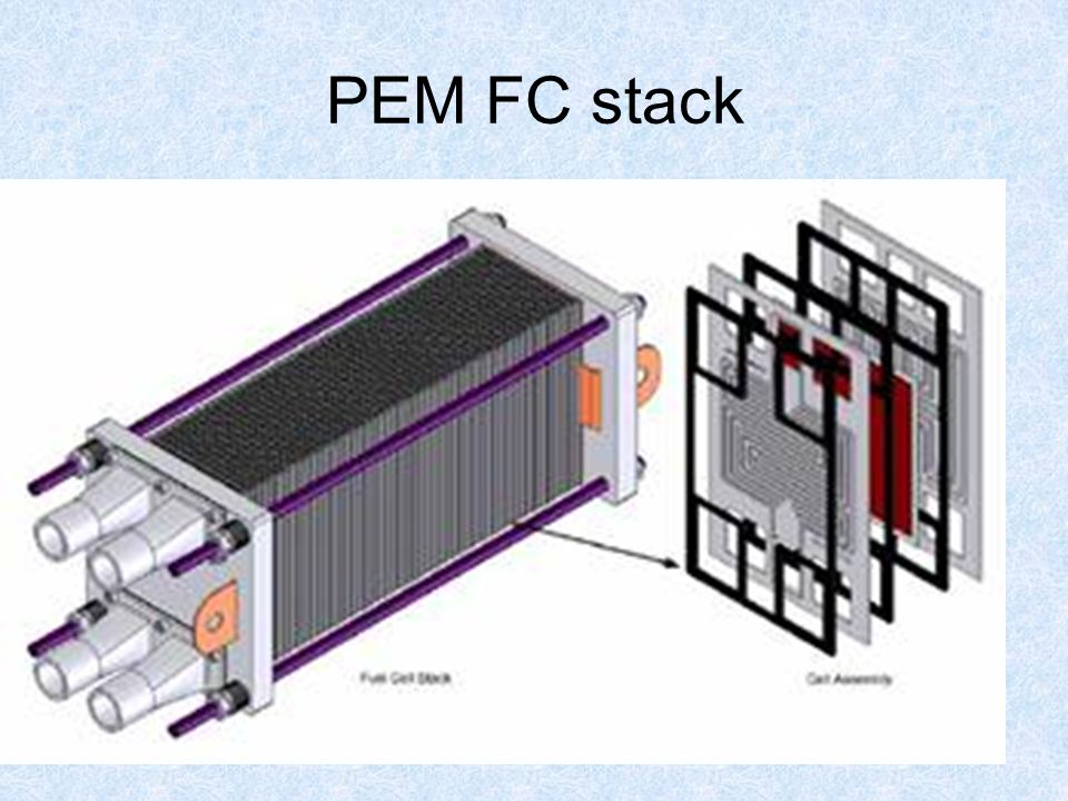 30 PEM FC stack