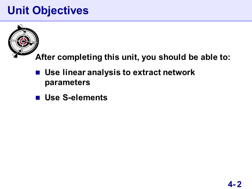34- Unit Objectives This is an Instructor Guide page! Switch to Notes view.