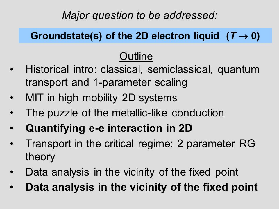 1.1.Classical charge transport 1. T >>h  D. Phonon scattering   1/T 2.