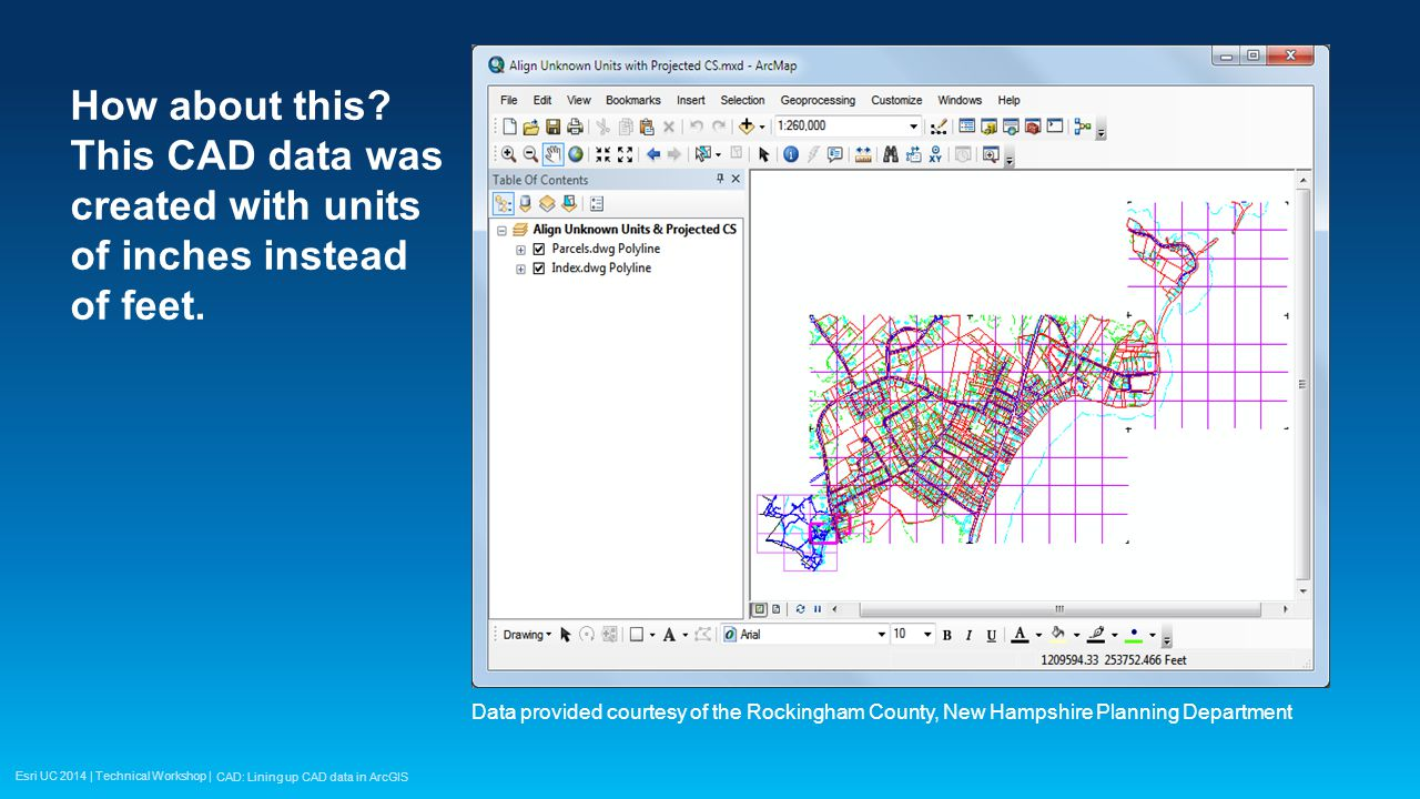Esri UC 2014 | Technical Workshop | Maybe you have seen this… This may be a scaling issue.