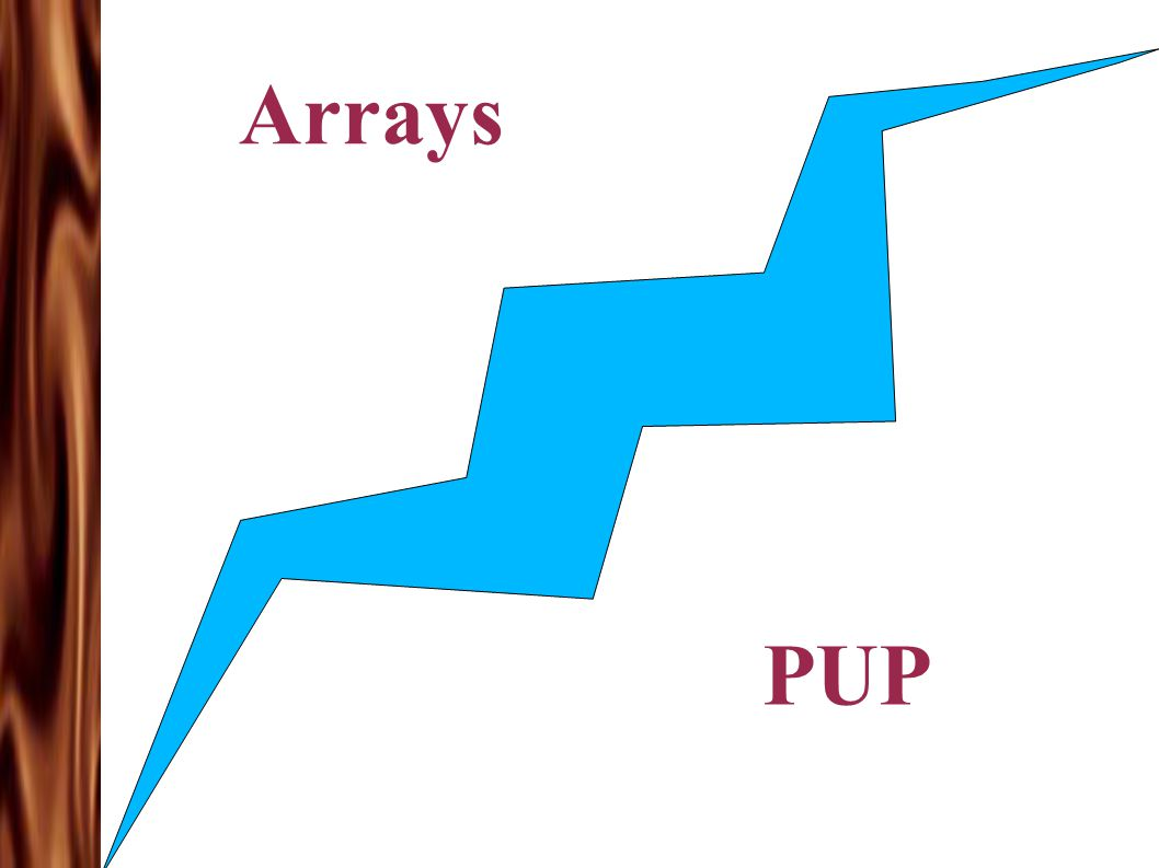 Arrays PUP
