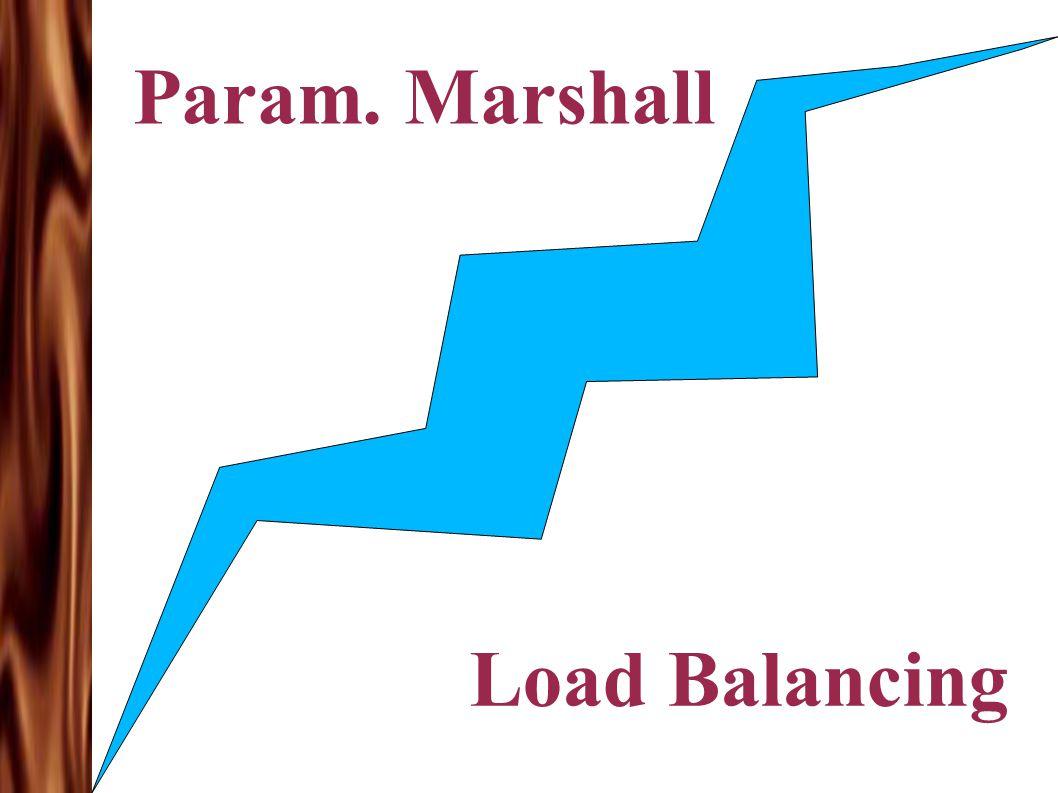 Param. Marshall Load Balancing