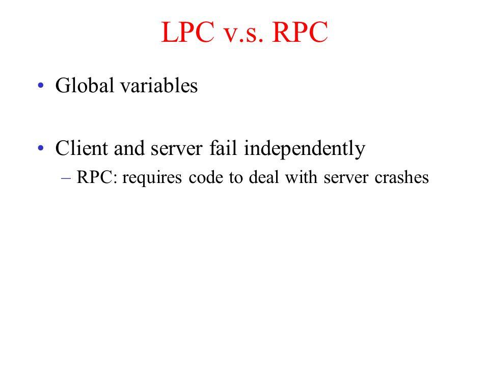 LPC v.s.