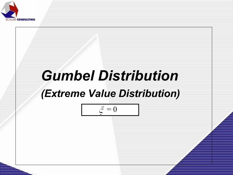 Gumbel Distribution (Extreme Value Distribution) = 0