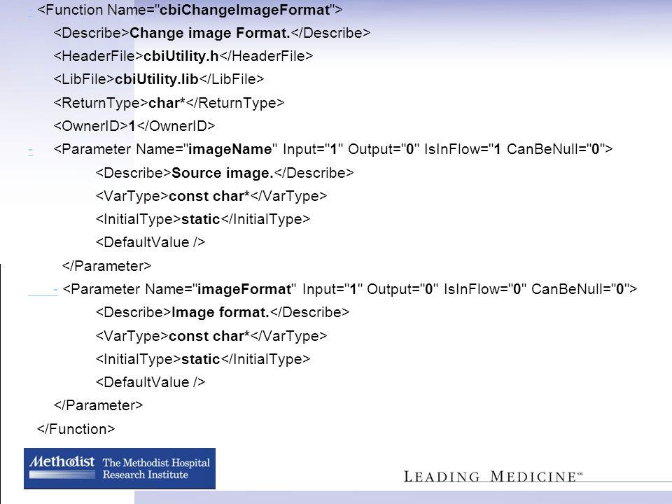 - Change image Format. cbiUtility.h cbiUtility.lib char* 1 - Source image.