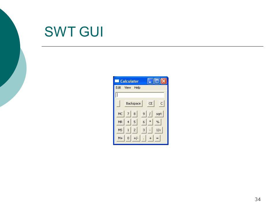 34 SWT GUI