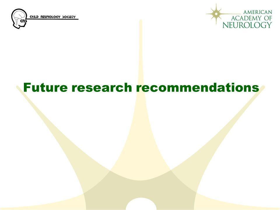 Future research recommendations