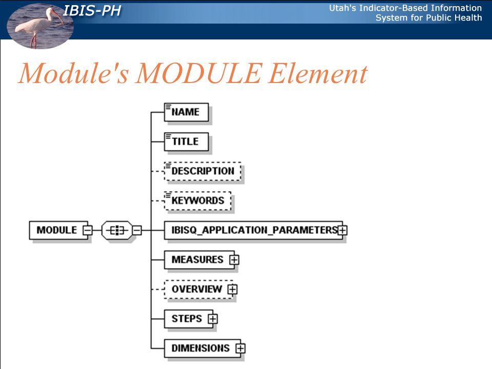 Main MODULE Elements NAME.Name of the module.