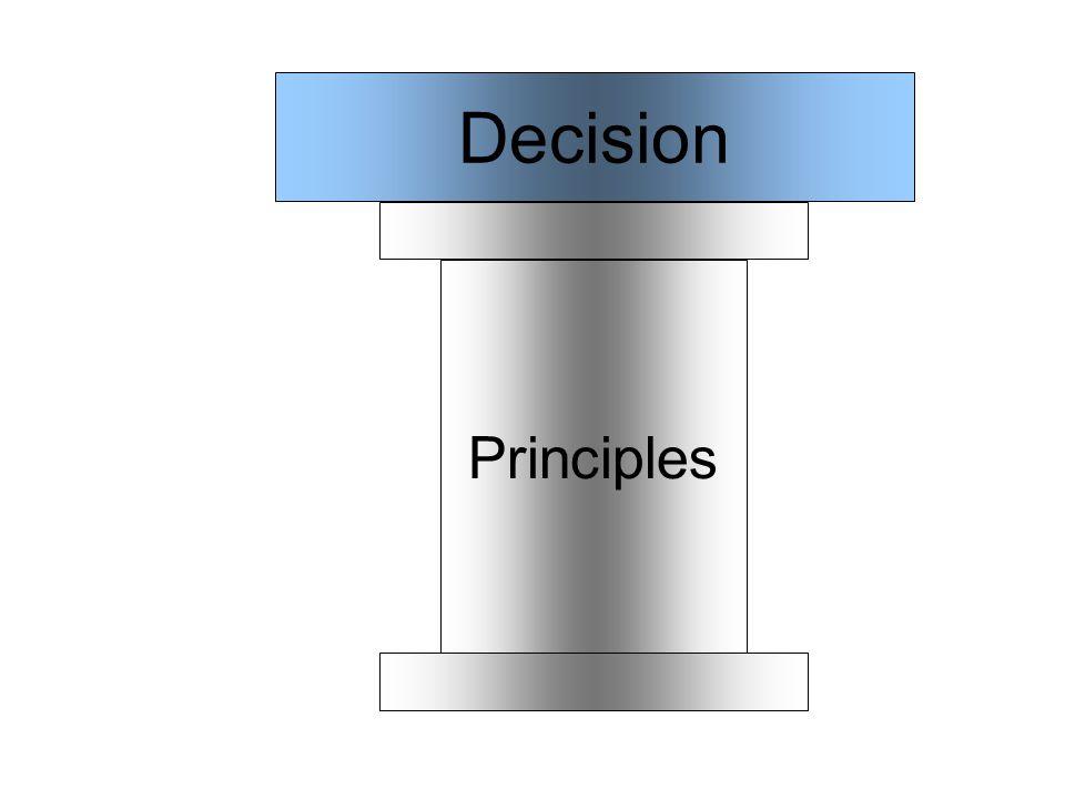 Principles Decision