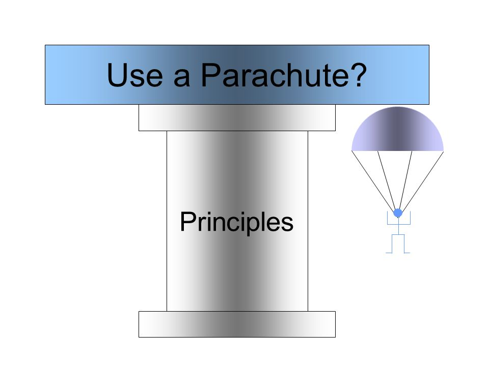 Principles Use a Parachute
