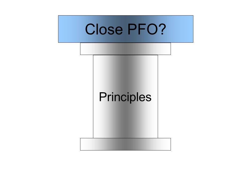 Principles Close PFO