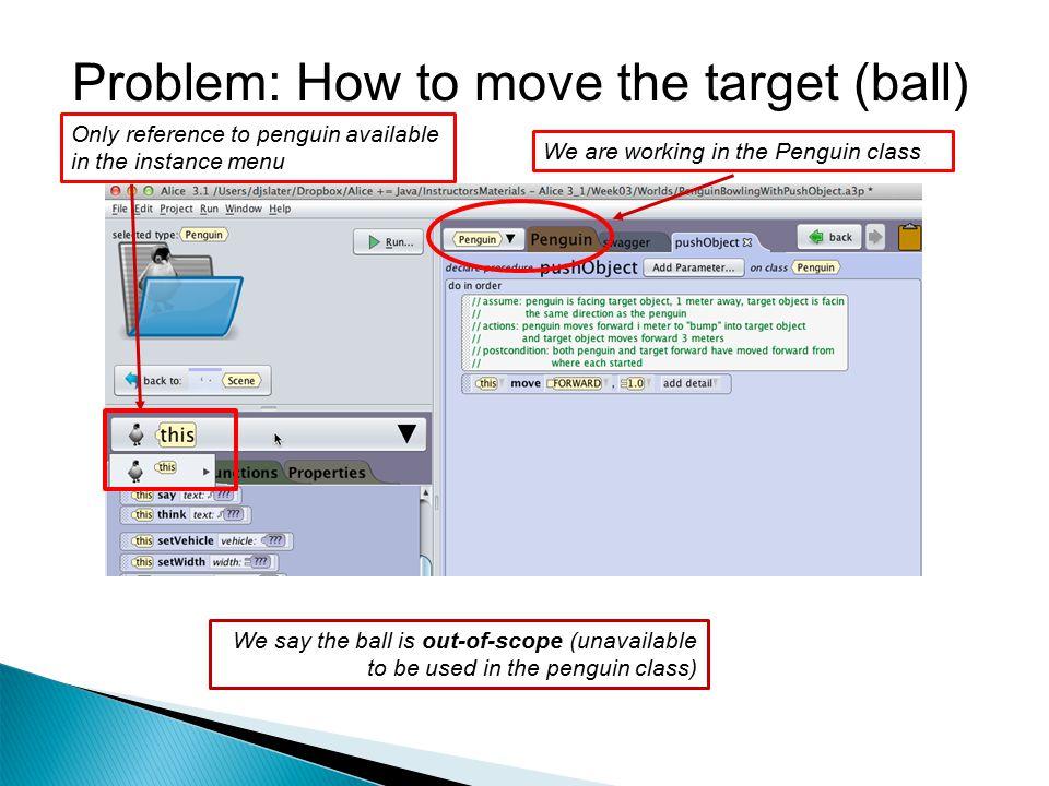pushObject procedural method