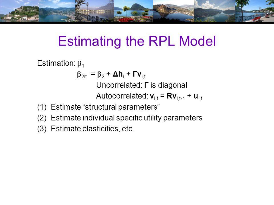 Heterogeneous (in the Means) Random Parameters Model