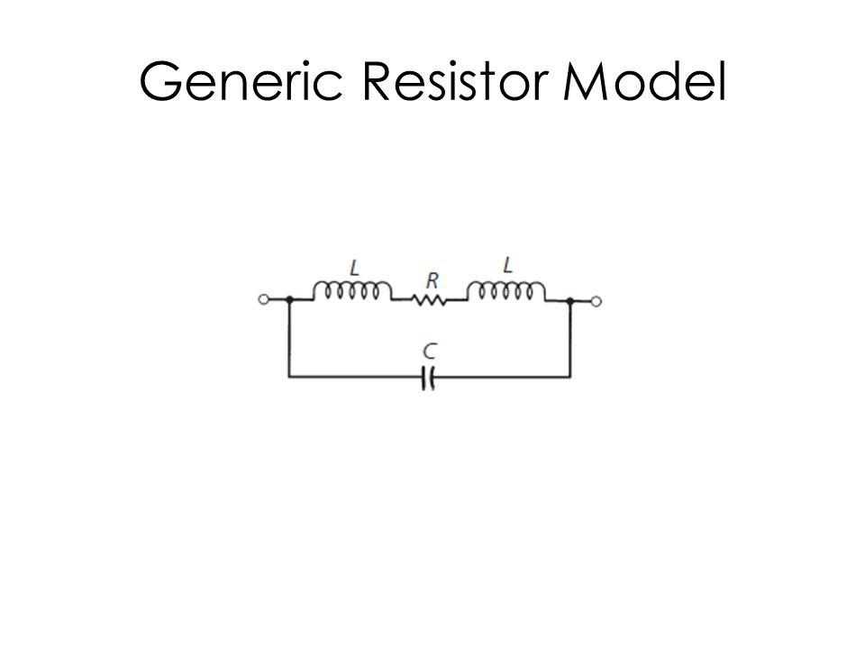 Generic Resistor Model