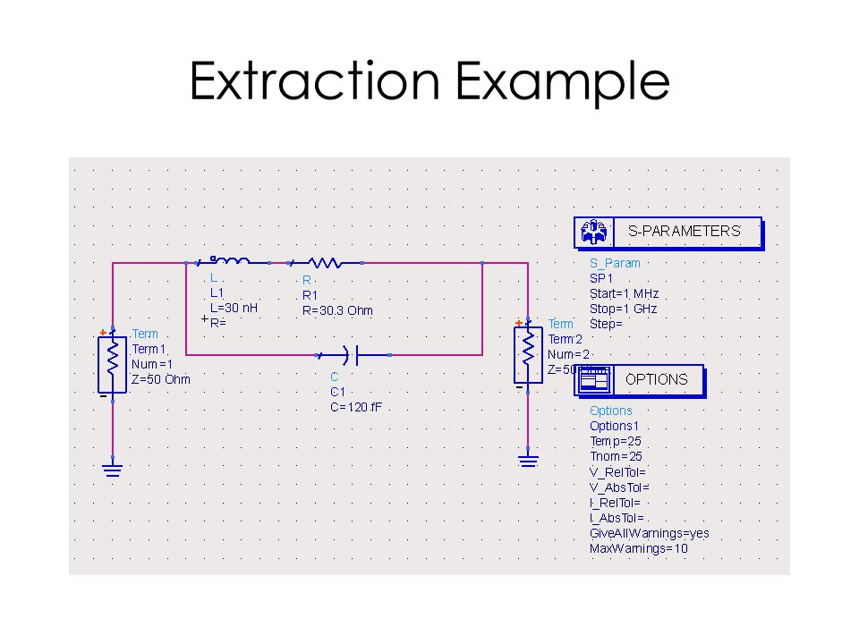 Extraction Example