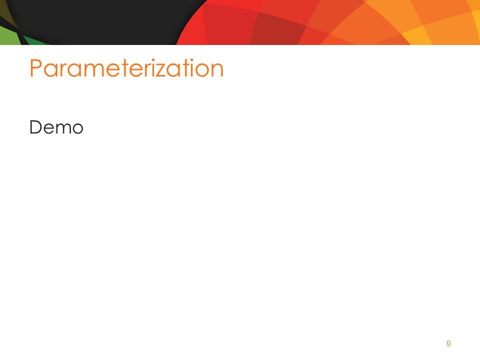 Parameterization Demo 9