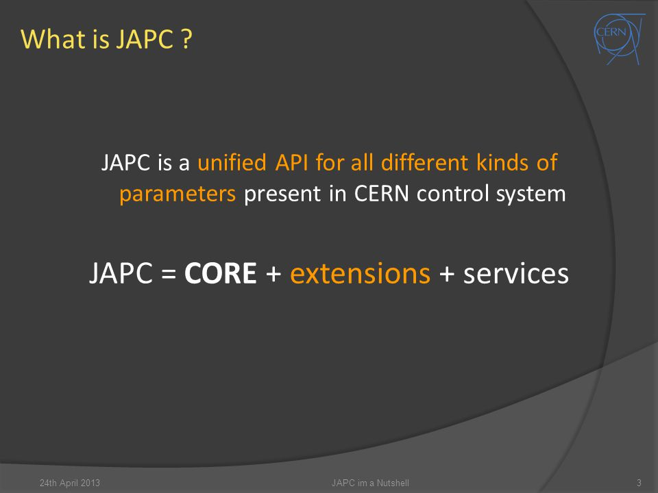 What is JAPC .