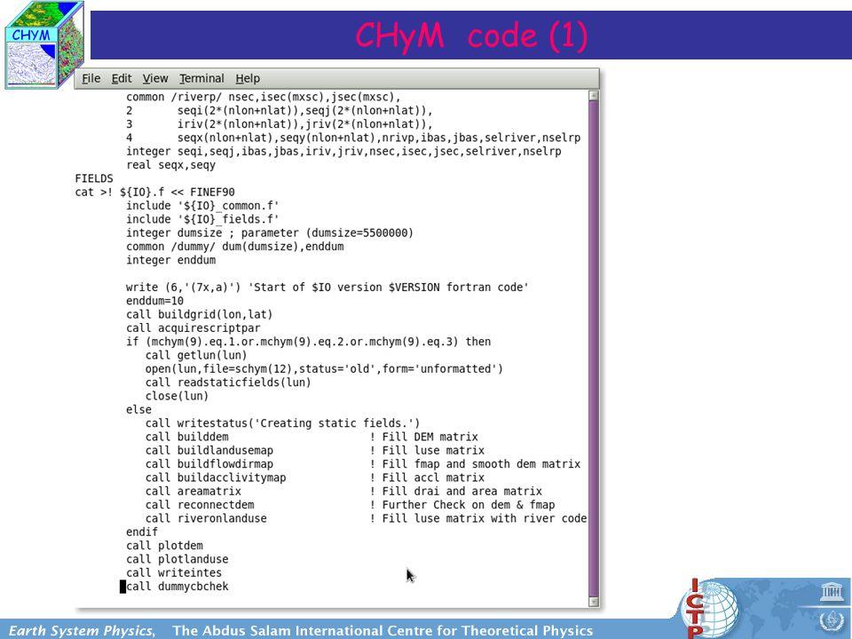 CHyM code (1)