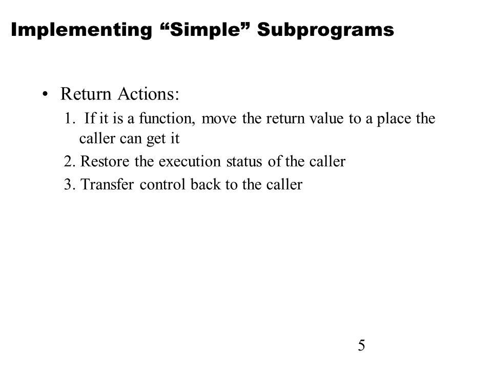 16 Parameter Passing Methods Design Considerations for Parameter Passing 1.