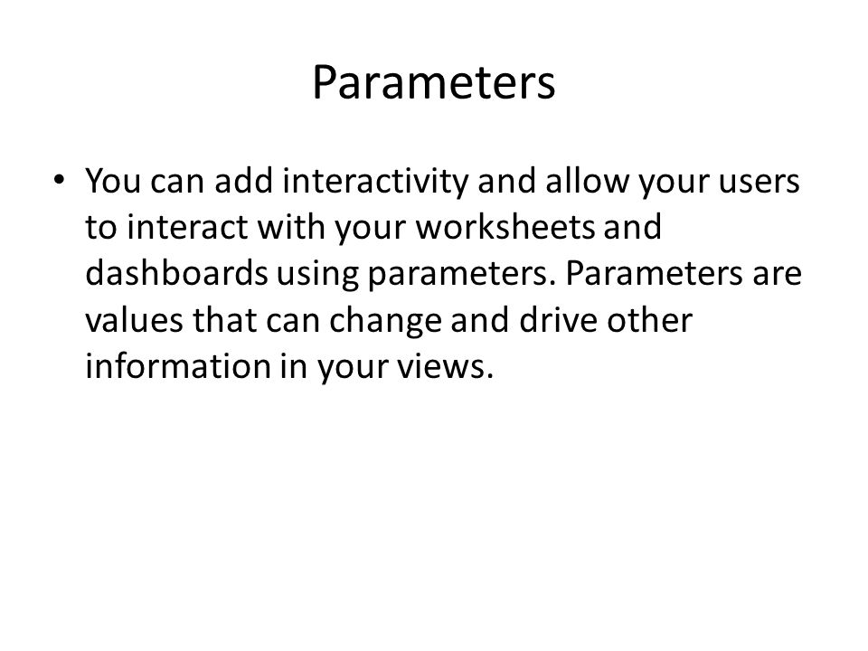 Parameters To create a parameter, click on the dropdown arrow icon near the magnifying lens in the Dimensions window and select Create Parameter...