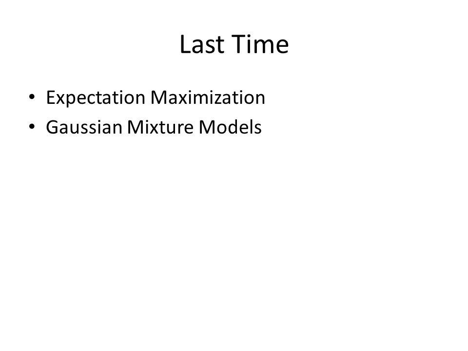 Today EM Proof – Jensen's Inequality Clustering sequential data – EM over HMMs – EM in any Graphical Model Gibbs Sampling