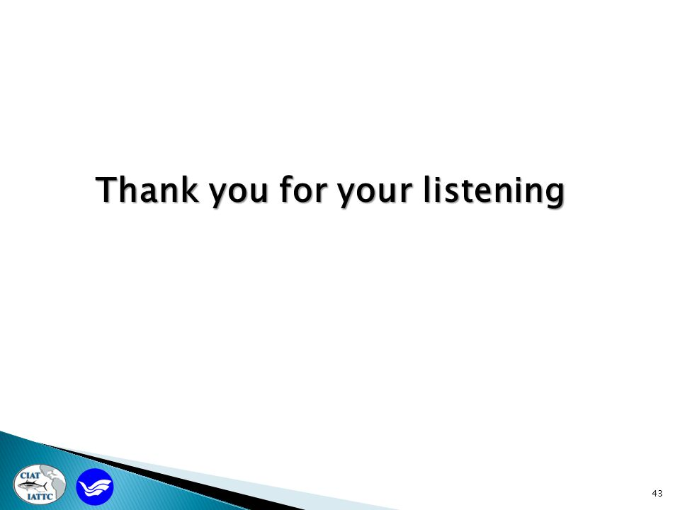 43 Thank you for your listening