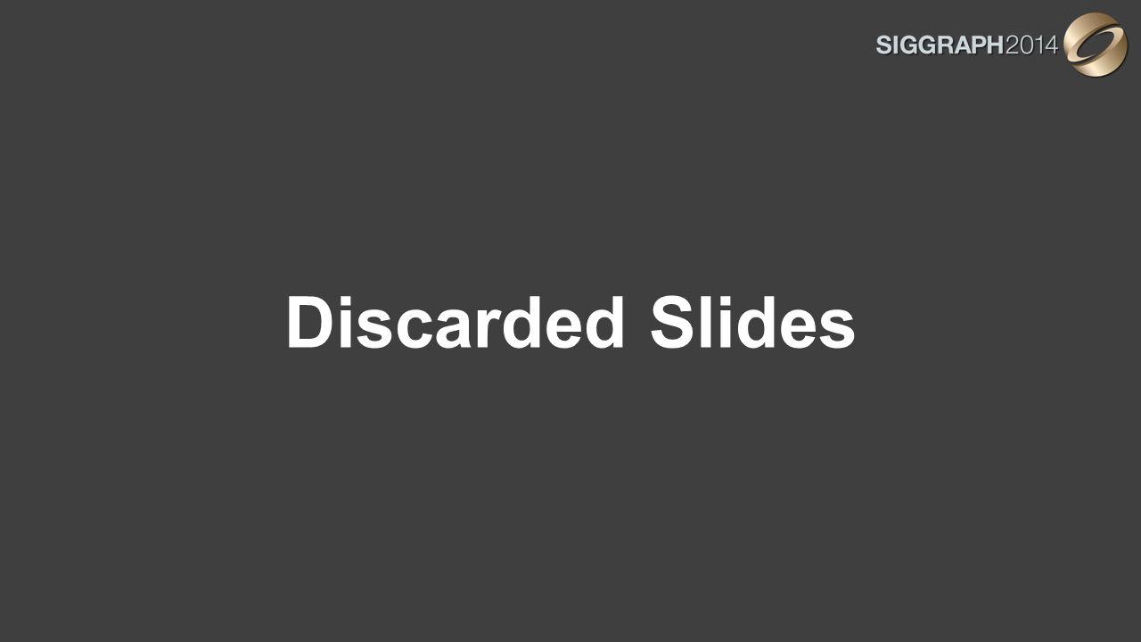 Discarded Slides