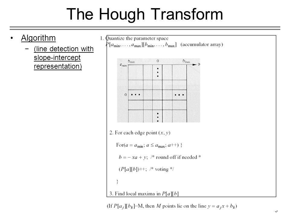 16 The Generalized Hough Transform Detection: