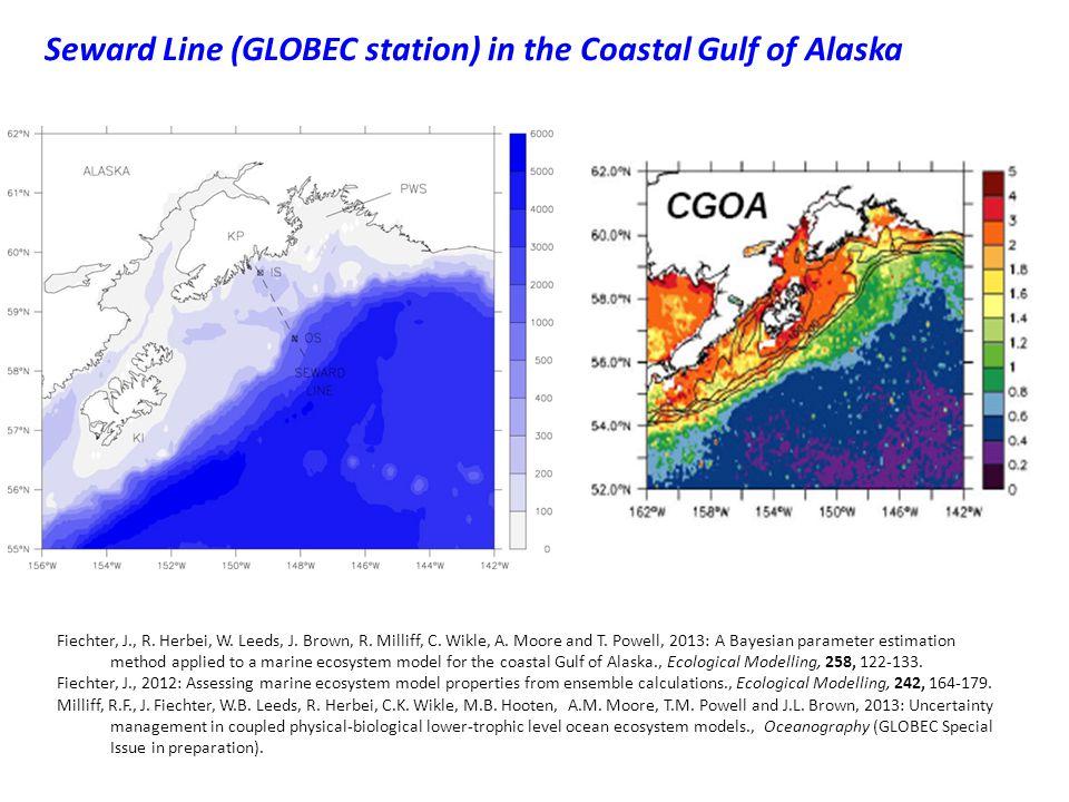 Seward Line (GLOBEC station) in the Coastal Gulf of Alaska Fiechter, J., R.