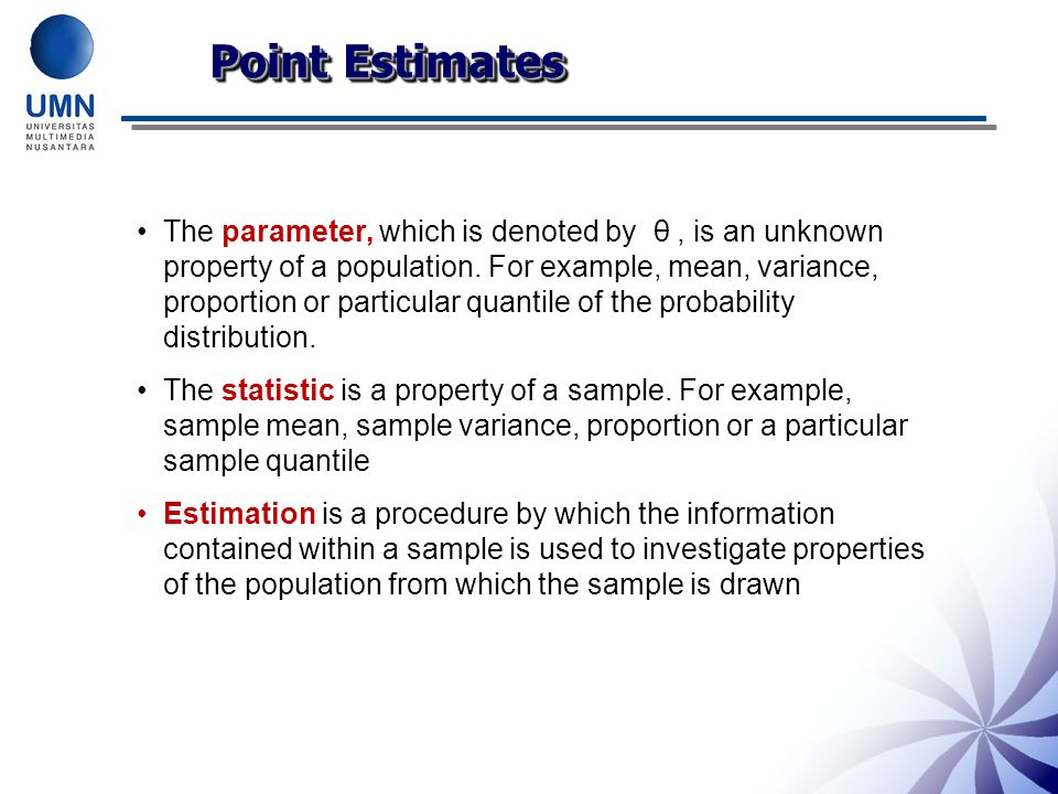 Exercise Solutions 3)Recall The estimate is within 0.5 of the true mean value